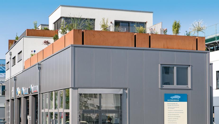 Gruber Objektbau - Referenz Aufstockung München