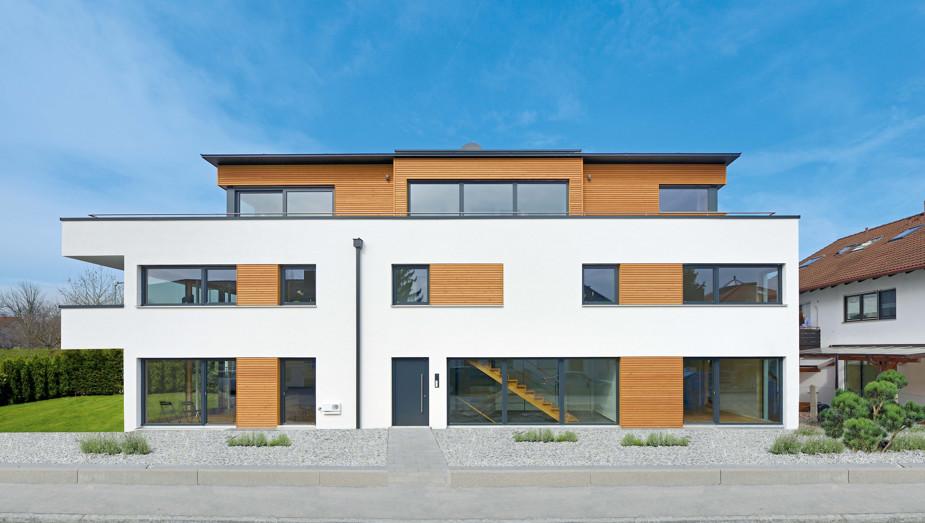 Gruber Objektbau - Referenz Haus München