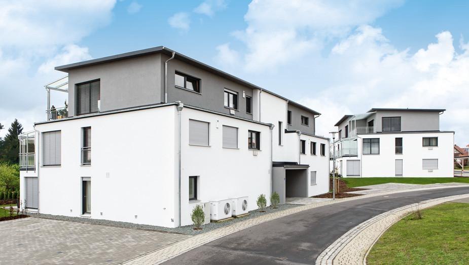 Gruber Objektbau - Referenz Mehrfamilienhäuser Oberpfalz